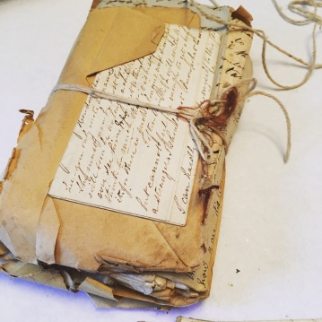 packet of old letters